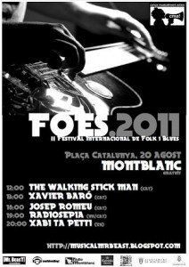 "Festival de Folk i Blues ""FOES 2011"""